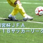 高円宮杯 JFA U-18サッカーリーグ2018 OSAKA