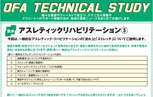 Action 2017年6月号 アスレティック・リハビリテーション③
